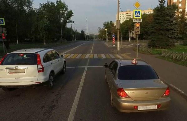 Вождение в городе - экзамен