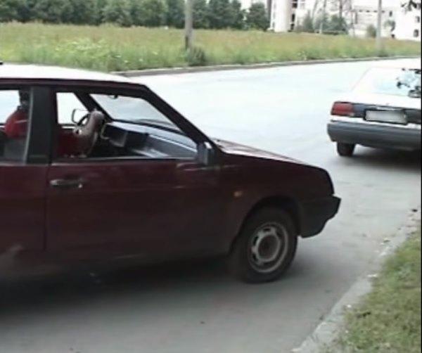 Парковка автомобиля