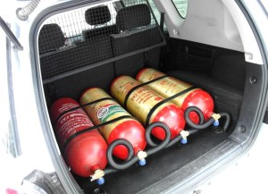 Фото автомобиля на метане
